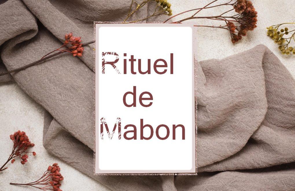 RItuel de Mabon